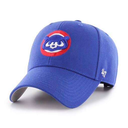Chicago Cubs 47 Brand Royal Cooperstown MVP Adjustable Hat