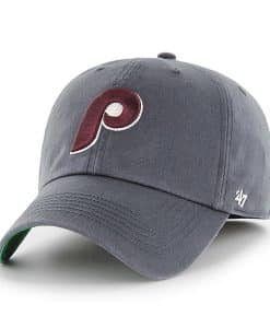 Philadelphia Phillies 47 Brand Vintage Navy Franchise Fitted Hat