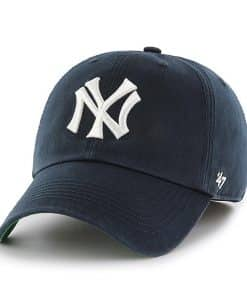 New York Yankees 47 Brand Navy Franchise Cooperstown Fitted Hat