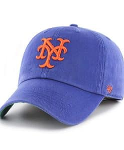 New York Mets 47 Brand Blue Franchise Classic Fitted Hat