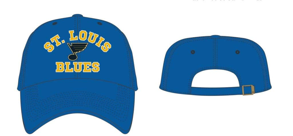 St Louis Blues 47 Brand Royal Owen Clean Up Adjustable Hat - Detroit Game  Gear