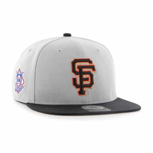 San Francisco Giants 47 Brand Gray Sure Shot Two Tone Captain Adjustable Hat