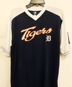 Detroit Tigers Men's Navy Jersey Shirt