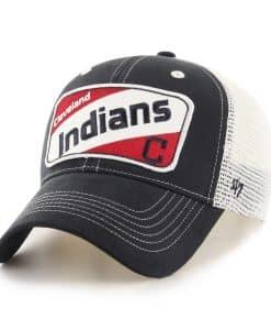 Cleveland Indians KIDS 47 Brand Navy Woodlawn MVP Hat