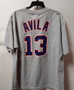 Detroit Tigers Grey Avila Tee