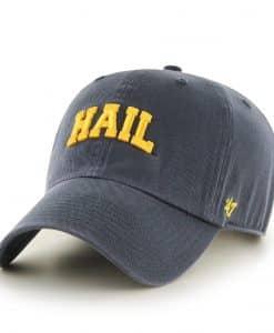 Michigan Wolverines 47 Brand Vintage Navy Hail Clean Up Adjustable Hat