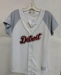 Detroit Tigers Women's White Grey Jersey