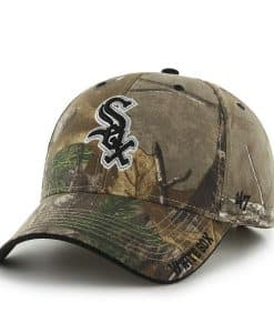 Chicago White Sox 47 Brand Realtree Camo Frost MVP Adjustable Hat