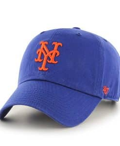 New York Mets Women's 47 Brand Royal Clean Up Adjustable Hat