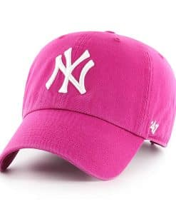 New York Yankees Women's 47 Brand Orchid Adjustable Hat
