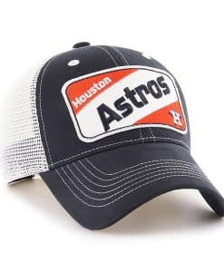 Houston Astros KIDS 47 Brand Navy Woodlawn MVP Adjustable Hat