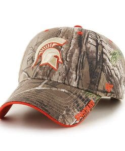 Michigan State Spartans 47 Brand Realtree Camo Frost MVP Adjustable Hat