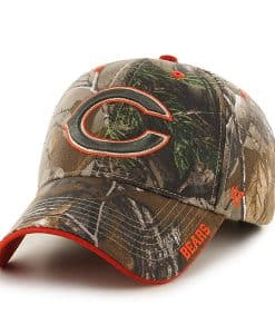 Chicago Bears 47 Brand Realtree Camo Frost MVP Adjustable Hat