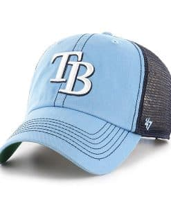 Tampa Bay Rays 47 Brand Trawler Columbia Clean Up Mesh Adjustable Hat