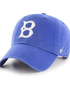 Los Angeles Dodgers 47 Brand Cooperstown Blue Clean Up Adjustable Hat