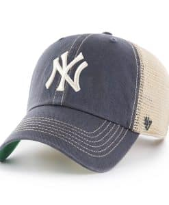 New York Yankees 47 Brand Trawler Vintage Navy Clean Up Mesh Adjustable Hat