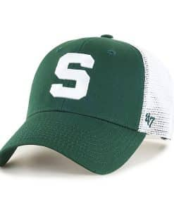 Michigan State Spartans 47 Brand Dark Green Branson MVP Mesh Adjustable Hat