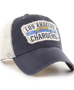 Los Angeles Chargers 47 Brand Vintage Navy Crawford Clean Up Adjustable Hat