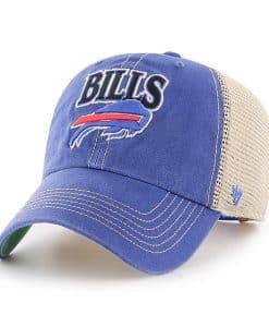 Buffalo Bills 47 Brand Vintage Blue Tuscaloosa Clean Up Adjustable Hat