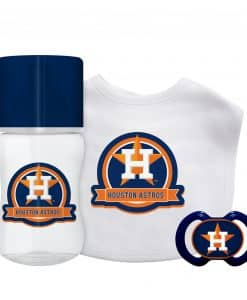 Houston Astros Baby Gift Set 3 Piece