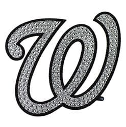 Washington Nationals Bling Auto Emblem
