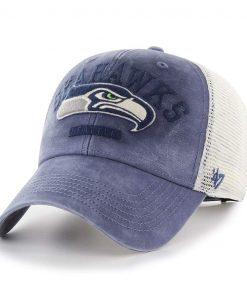 Seattle Seahawks 47 Brand Vintage Brayman MVP Adjustable Hat