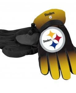 Pittsburgh Steelers Men's Big Logo Insulated Gloves