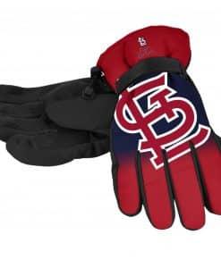 St. Louis Cardinals Men's Big Logo Insulated Gloves