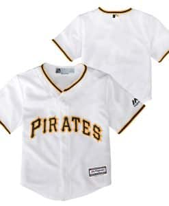 Pittsburgh Pirates Baby Majestic White Home Jersey