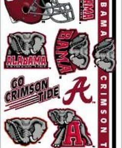 Alabama Crimson Tide Temporary Tattoos
