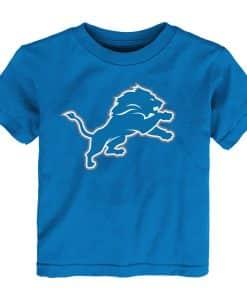 Detroit Lions TODDLER Blue T-Shirt Tee