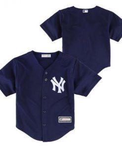 New York Yankees Baby 18M Navy Jersey