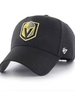 Vegas Golden Knights 47 Brand Black MVP Adjustable Hat