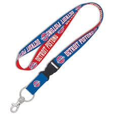 Detroit Pistons Two-Sided Breakaway Lanyard