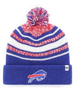 Buffalo Bills YOUTH 47 Brand Royal Bubbler Cuff Knit Hat