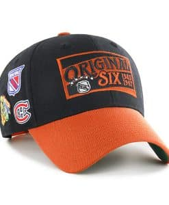 Original Six 47 Brand Black Two Tone MVP Adjustable Hat