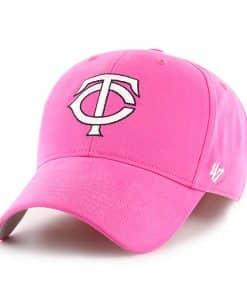 Minnesota Twins YOUTH Girls 47 Brand Pink Adjustable Hat