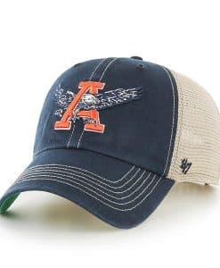 Auburn Tigers 47 Brand Trawler Navy Clean Up Mesh Snapback Hat
