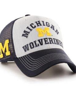 Michigan Wolverines 47 Brand Navy Savoy MVP Snapback Hat