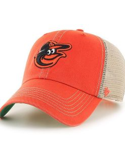 Baltimore Orioles 47 Brand Trawler Orange Clean Up Snapback Hat