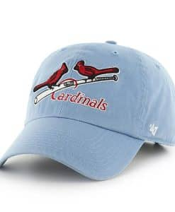 St. Louis Cardinals 47 Brand Columbia Clean Up Adjustable Hat