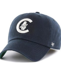 Chicago Cubs 47 Brand Classic Navy Franchise Fitted Hat