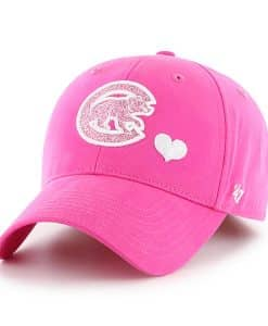 Chicago Cubs KIDS Girls 47 Brand Pink Sugar Sweet Adjustable Hat