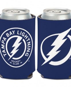 Tampa Bay Lightning 12 oz Blue White Can Koozie Holder