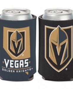 Vegas Golden Knights 12 oz Black Gold Nevada Can Koozie Holder