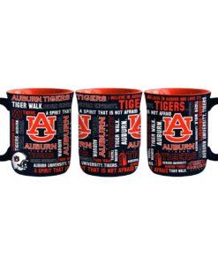 Auburn Tigers 17oz Spirit Style Coffee Mug