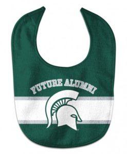 Michigan State Spartans NCAA Baby Bib - All Pro Future Alumni