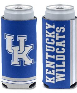 Kentucky Wildcats 12 oz Blue Slim Can Koozie Holder
