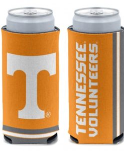 Tennessee Volunteers 12 oz Orange Slim Can Koozie Holder