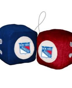 New York Rangers Fuzzy Dice